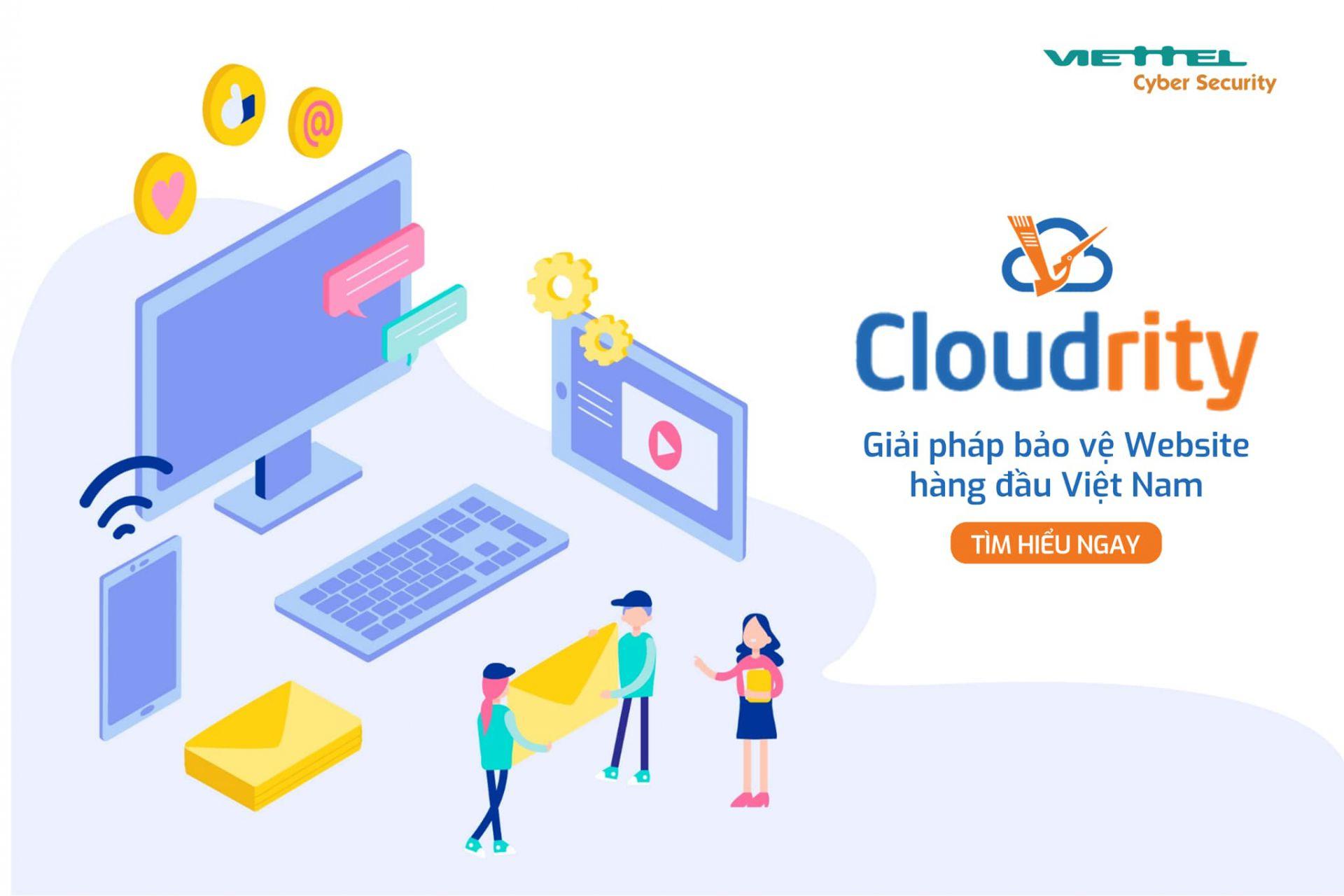 Cloudrity – giải pháp bảo vệ website và giá trị thương hiệu, niềm tin của doanh nghiệp