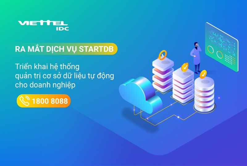 Viettel gỡ khó cho doanh nghiệp bằng dịch vụ database điện toán đám mây đầu tiên của Việt Nam