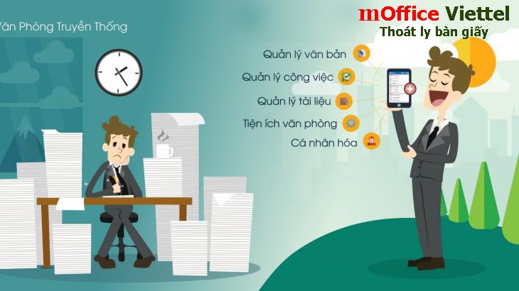 Viettel mOffice giúp Văn phòng Chính phủ xử lý văn bản nhanh hơn 5 lần