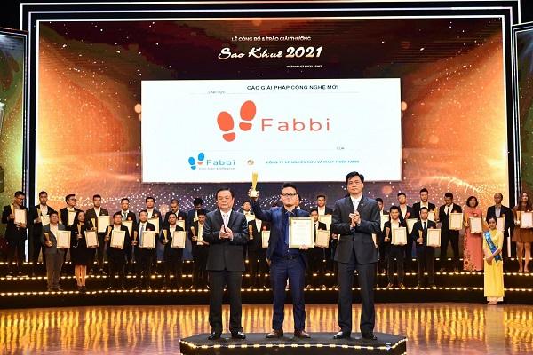 Fvision đón nhận Giải thưởng Sao Khuê 2021