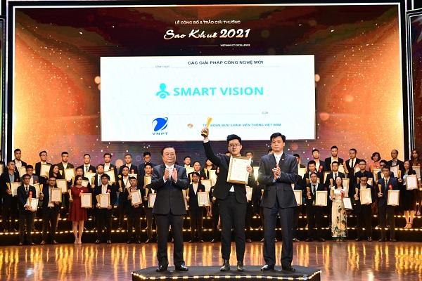 Giải pháp SmartVision của VNPT-IT được tôn vinh tại Sao Khuê 2021